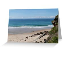 Cool Rocky Point Greeting Card