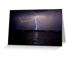 Lightning.  Greeting Card