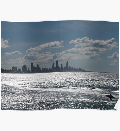Surfers Paradise! Poster