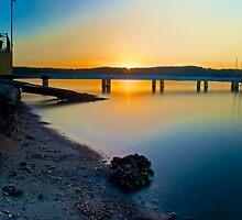 Sunset.  by blakemink