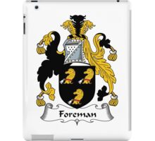 Foreman Coat of Arms / Foreman Family Crest iPad Case/Skin