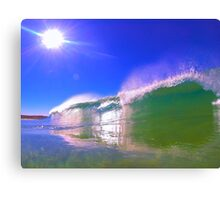 Sunrise Waves. Canvas Print