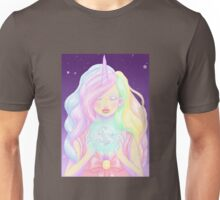 "Unicorn, ""girls are magical"" Unisex T-Shirt"