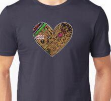 Wooden Heart Love Wins Unisex T-Shirt