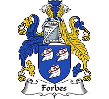Forbes Coat of Arms / Forbes Family Crest Photographic Print
