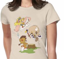 Paw Paws Womens Fitted T-Shirt