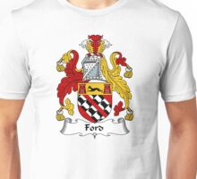 Ford Coat of Arms / Ford Family Crest Unisex T-Shirt