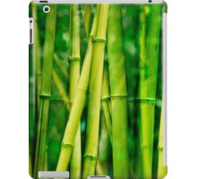 green bamboo iPad Case/Skin