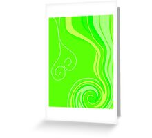 Neon Citrus with a Twist Greeting Card