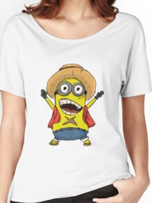 Minion Luffy Women's Relaxed Fit T-Shirt