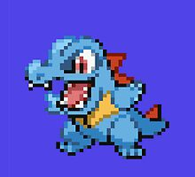 Totodile by GreenTheRival