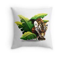 Tiger Cub Throw Pillow