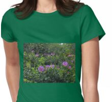 Rhododendrons - London Temple Womens Fitted T-Shirt