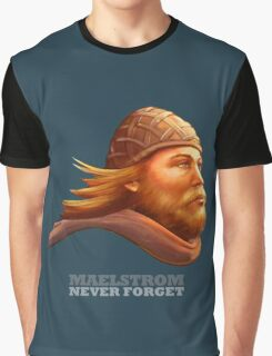 Maelstrom - Never Forget - Viking Graphic T-Shirt