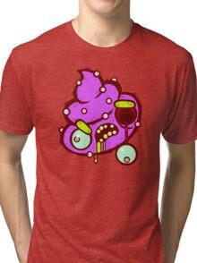 Zombie Alien Poop Tri-blend T-Shirt