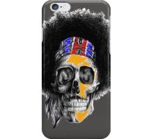 Hendrix Skull in color iPhone Case/Skin