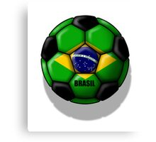 Brasil Ball Canvas Print
