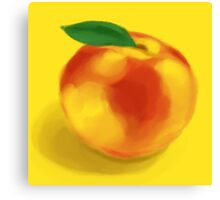 Peachy! Canvas Print
