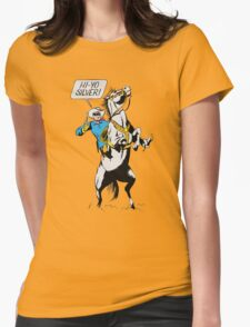 Lone Ranger Womens Fitted T-Shirt