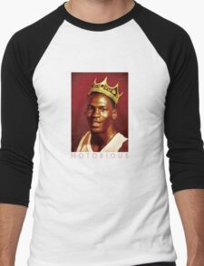 Notorious Michael jordan chicago Men's Baseball ¾ T-Shirt