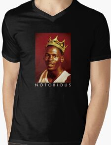 Notorious Michael jordan chicago Mens V-Neck T-Shirt