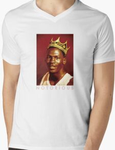 Notorious Michael jordan chicago Mens V-Neck T-Shirt