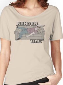 Render Time Women's Relaxed Fit T-Shirt