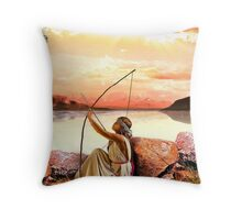 Aim at it Throw Pillow