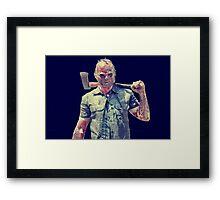 The Orphan Killer Slasher Icon Framed Print