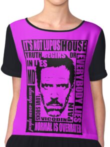House MD Chiffon Top