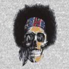 Hendrix Skull in color by sastrod8