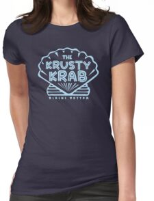 The Krusty Krab Womens Fitted T-Shirt