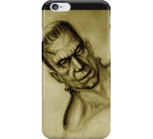 frankensein iPhone Case/Skin