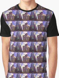 Deep Style Buildings Graphic T-Shirt