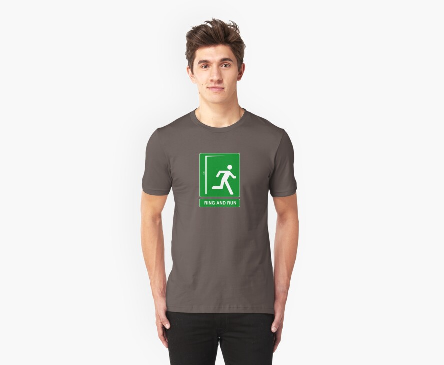 Ring and Run  - T Shirt by BlueShift