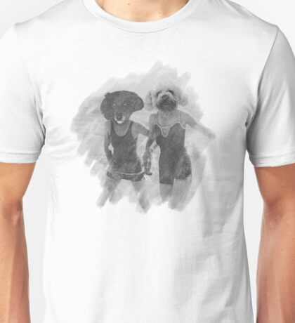 Dogs at the Beach Unisex T-Shirt