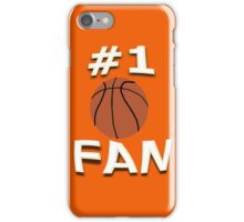 Number One Basketball Fan iPhone Case/Skin