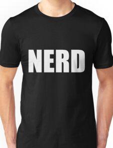 NERD T Shirt - White Font Unisex T-Shirt