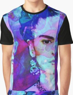 Dreaming Of Frida - Art By Sharon Cummings Graphic T-Shirt