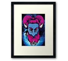 Evil Creature  Framed Print