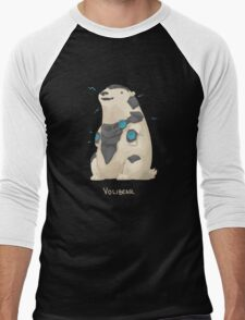 VoliBear Men's Baseball ¾ T-Shirt