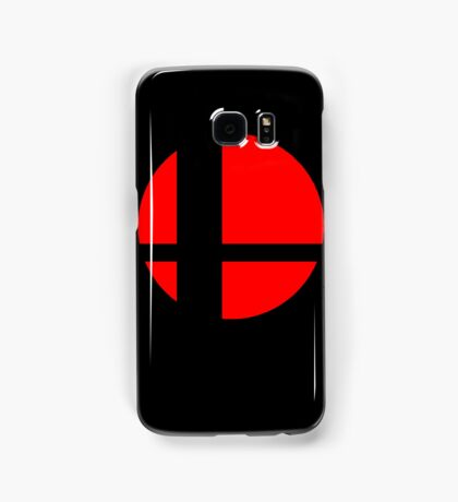 Super Smash Bros Logo - Black Background - Samsung Cases Samsung Galaxy Case/Skin