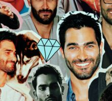 Tyler Hoechlin Collage Sticker