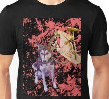 Shiva and her Bike Ruby Unisex T-Shirt