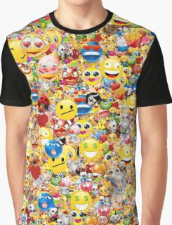 emoji Graphic T-Shirt
