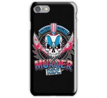 Murder Ride iPhone Case/Skin