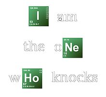 Breaking Bad 'I am the one who knocks' by aketton
