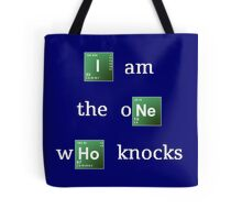 Breaking Bad 'I am the one who knocks' Tote Bag