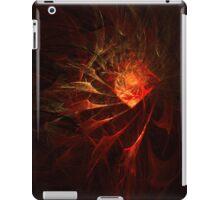 Fractal Flame Diamond iPad Case/Skin