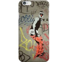 Cheeky Parisian graffiti iPhone Case/Skin